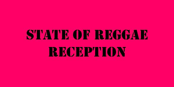 label stating state of reggae reception