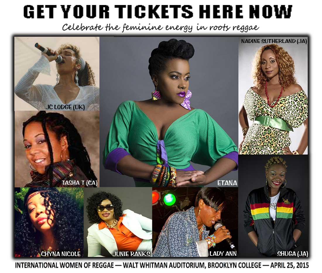 international women of reggae